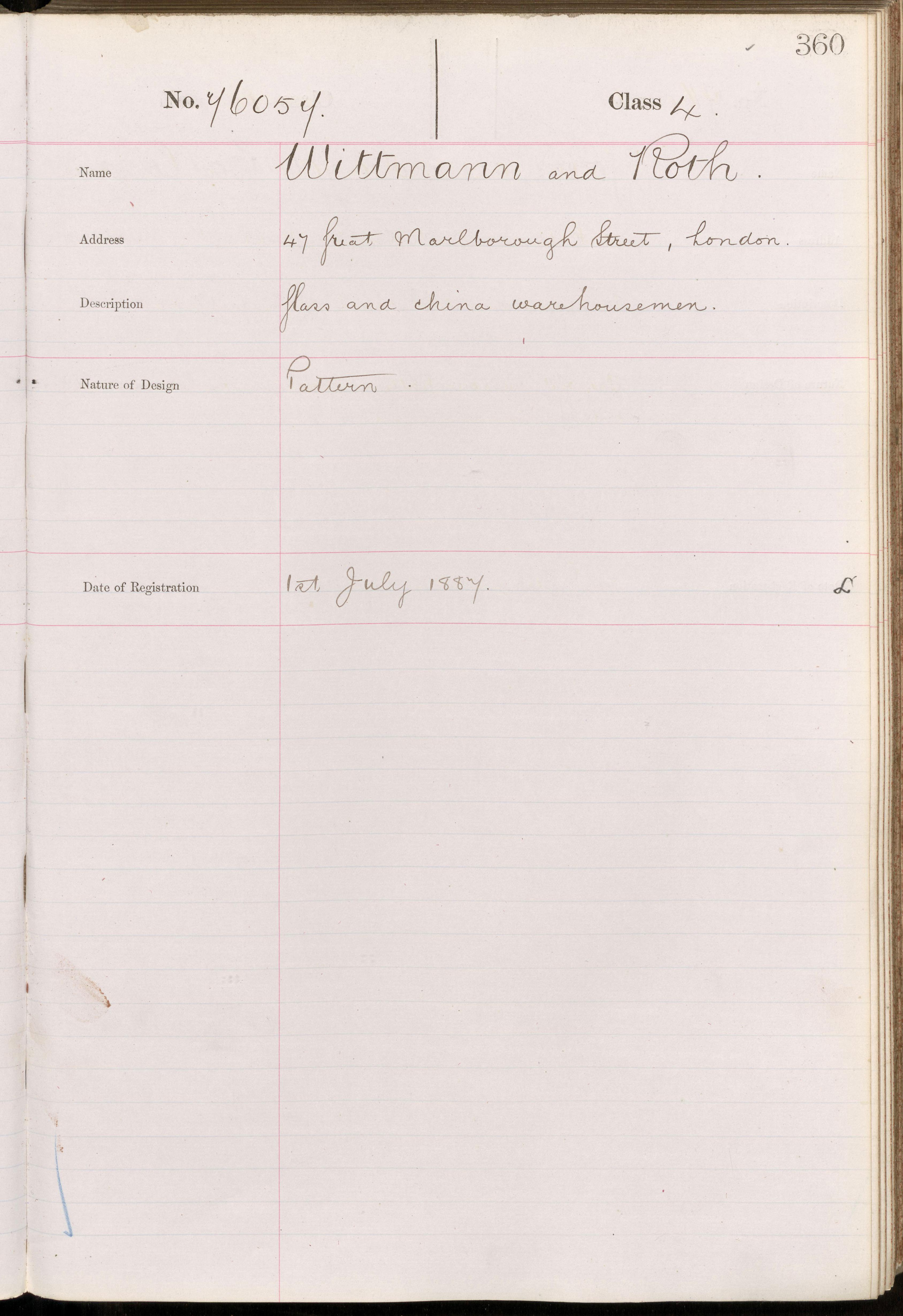 Registry document for Rd 76057 - National Archives, England